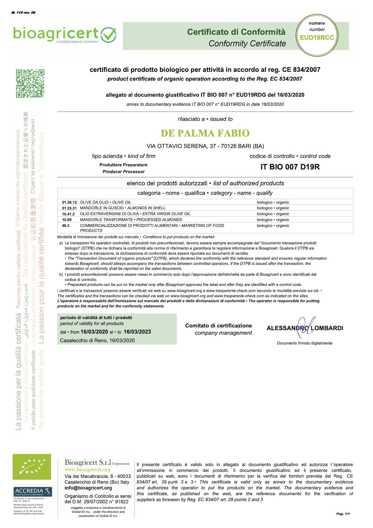 certificato-bio